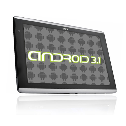 Acer Iconia Tab A500 bekommt endlich Android 3.1