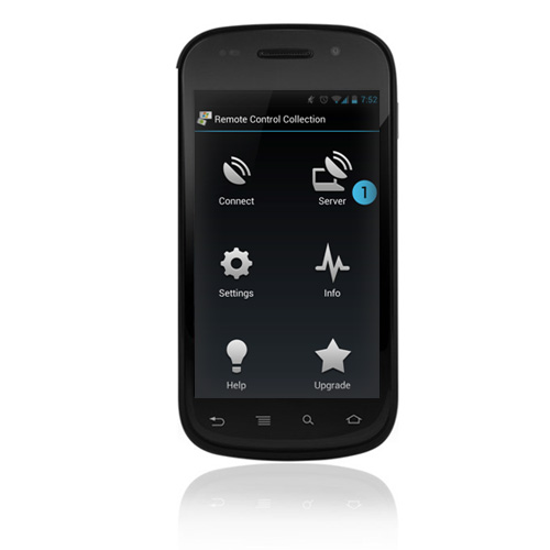 Remote Control Collection Android App