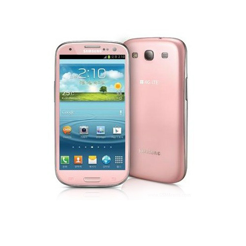 Samsung Galaxy S3 in Pink/Rosa